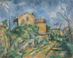 The Maison Maria.c.1895.by Paul Cezanne