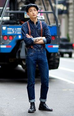 nice touch to denim styling