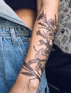 Pretty Tattoos, Cute Tattoos, Beautiful Tattoos, Flower Tattoos, Small Tattoos, Incredible Tattoos, Black Tattoos, Yg Tattoos, Body Art Tattoos