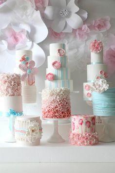 Painel de inspiração rosa e azul + Casamento | Andrea Velame Blog