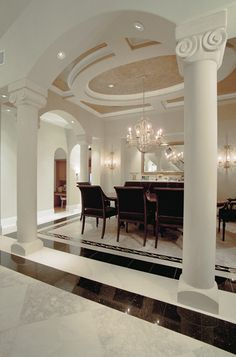 interior of floridian estate homes | ... designs, blueprints for high end luxury estate traditional dream homes