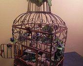 Fairy Houses, Miniature Houses, Woodland Fairy, Fairy Bird House. $12.00, via Etsy.