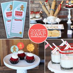 How to host a cookie swap party