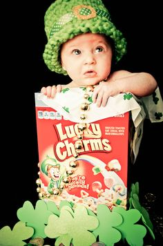 Happy St.Patricks Day St Patrick's Day Photos, Cute Photos, Saint Patricks, St Patricks Day, Baby Pictures, Baby Photos, Mini Photo, Luck Of The Irish, Favorite Holiday