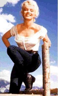 *Marilyn Monroe -''River of No Return'' - 1954