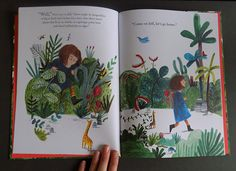 There's a Tiger in the Garden - About Today - Illustration by Lizzy Stewart