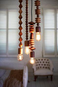 Gorgeous pendant lamps handmade in Australia.