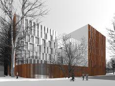 Жилой дом во 2-м Донском проезде : Sergey Skuratov Architects