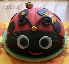 Ladybird Cake, first one ive made :)