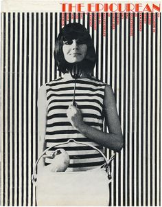 From 1966 to American-born designer Les Mason art-directed The Epicurean, Australia's first food and wine magazine. Design Elements, Design Art, Design Ideas, Acid Art, The White Stripes, Painting Collage, Vintage Graphic Design, Retro Art, Color Theory