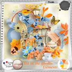 minikit Tea in the Garden by S.Designs http://scrapfromfrance.fr/shop/index.php?main_page=index&cPath=136