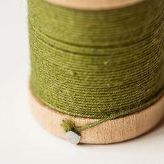 Color Verde Olivo - Olive Green!!! Twine