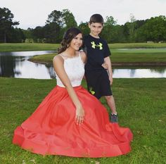 He keeps the boys away. Prom Dresses, Formal Dresses, Ball Gowns, Tulle, Boys, Happy, Skirts, Fashion, Dresses For Formal