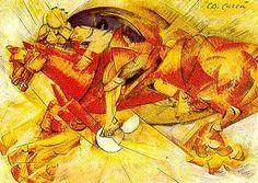 filippo tommaso marinetti paintings | tommaso marinetti in 1909 in a paris newspaper le figaro marinetti was ...
