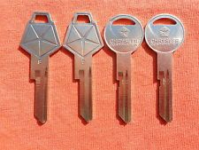 CHRYSLER CORP. / OEM Keys / these are circa 1971.