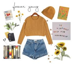 """ғᴏʀᴇᴠᴇʀ ʏᴏᴜɴɢ🌻"" by lilyjey ❤ liked on Polyvore featuring H&M, Pier 1 Imports, Westinghouse and Chronicle Books"