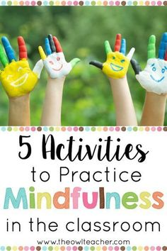 Using mindfulness in