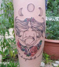 Sagrado feminino tattoo TPM - Tatuagem Para Mulheres