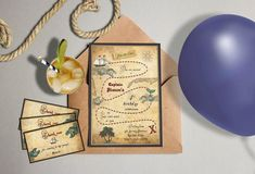 Kids party personalized invitation pirate party by MiniShacks Map Invitation, Printable Invitations, Invite, Pirate Maps, Pirate Theme, Treasure Hunt Birthday, Treasure Maps, Treasure Chest, Pirate Birthday Invitations
