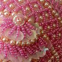 Resultado de imagen para bordado con perlas