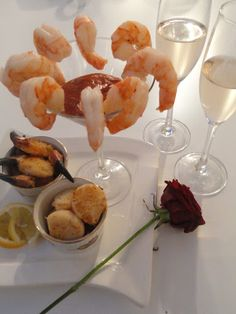 The romance doesn't have to stop because Valentine's Day is over. Surprise your loved one with a romantic seafood dinner for two.