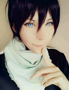 Yato Cosplay by Hanecchin shared by min ; on We Heart It Yato//Noragami//Cosplayer: Hanecchin (´∀`)♡ Cosplaying is on point. Cosplay Boy, Cosplay Anime, Epic Cosplay, Cute Cosplay, Amazing Cosplay, Cosplay Outfits, Halloween Cosplay, Cosplay Style, Noragami Cosplay
