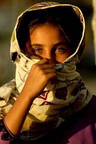 Jeune fille du Balochistan (Pakistan)