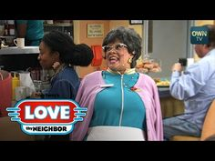 When Floyd and Hattie notice a beautiful customer at the diner, Hattie claims she was just as attractive as the woman in her day. Floyd is far from convinced. Oprah Winfrey Network, Love Thy Neighbor, Tyler Perry, Lineup, Superstar, Tv Shows, Youtube, Movies, Films