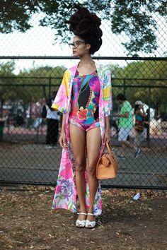 Nas minhas pesquisas diárias sobre moda e universo negro ,acabei descobrindo o Festival Afro Punk ,que acontece anualmente no Brooklyn ...