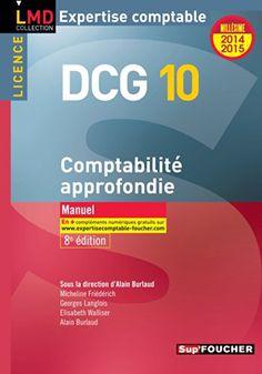 L'intégralité du programme de l'épreuve nº10 Comptabilité approfondie du DCG. Pour chaque thème clé : Toutes les connaissances fondamentales de comptabilité au travers d'un cours structuré ; L'essentiel avec des fiches de synthèses. Mise à jour des dernières dispositions réglementaires 2014. Cote : 4-72 BUR