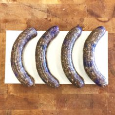 Maple Blueberry Sausage