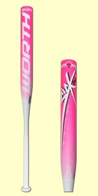 The 2015 Worth Sick 454 Jeff Hall Reload USSSA Slow Pitch Softball bat for $249.99 (SBSJHU). Made in the USA, the Sick 454 is a one-piece composite with Sick 454 technology. This bat is engineered for players who prefer a stiff taper flex and features a 0.5 oz. end load swing weight. This softball bat is approved for play by USSSA, NSA, and ISA with a full twelve month Manufacturer's warrenty! #justbats #clicktohit