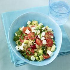 Couscous-Salat mit Schafskäse Rezept