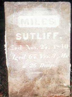 Miles Sutliff (1773 - 1840) - Find A Grave Memorial