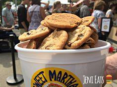 Sweet Martha's chocolate chip cookies from the Minnesota State Fair. #MNStateFair