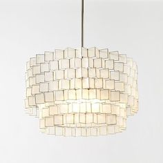 Favorite light fixture! We have one in the dining room (3 bulbs are under there so there's lots of light)