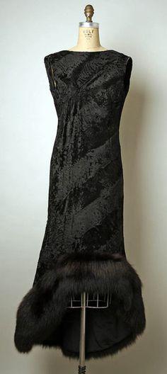 Evening Dress Pauline Trigère, 1965 The Metropolitan Museum of Art