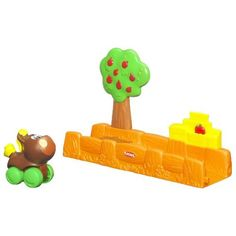 Playskool Wheel Pals Stroll Fill Up Farmstand by Playskool. $4.96. Press the tree to launch it, as the horse vehicle zips by, an apple disappears -. Ages 18 Month and up.. Now you see the apple, now you don't.. Playskool Wheel Pals Stroll Fill Up Farmstand