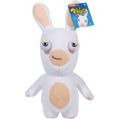 Nickelodeon Rabbids Invasion Easter Rabbid Smirk Plush
