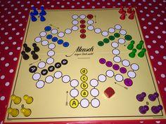 Mensch ärgere Dich nicht! Classic German board game.