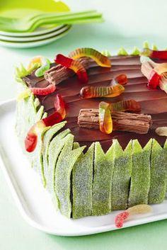 Creepy crawlers - birthday cake