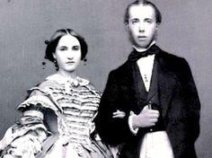 Emperor Maximilian of Mexico Empress Carlota - a doomed couple