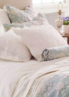 Pine Cone Hill Madeline Quilted Euro Pillow Sham - Final Sale @Layla Grayce