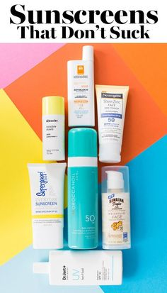 We Found the Sunscreens That Don't Suck