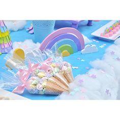 Unicorn Party Thalia Babyshower 1st Birthdays Clouds Sunshine Alice Love Rain Shower Baby Cloud Christening 1 Year Birthday