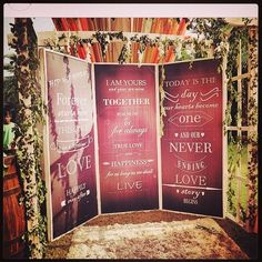 16 DIY Photo-booth Backdrops For Your Mehendi / Cocktail! Diy Photo Booth Backdrop, Cool Backdrops, Wedding Photo Booth Props, Diy Wedding Backdrop, Wedding Entrance, Outdoor Wedding Decorations, Backdrop Ideas, Booth Ideas, Online Wedding Planner
