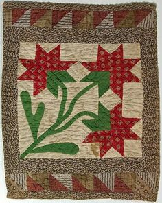 Beautiful Old Doll Quilt.