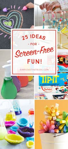 25 Ideas for Screen-Free Fun this Summer