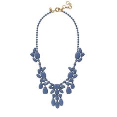 J.Crew - Painted stone necklace 128