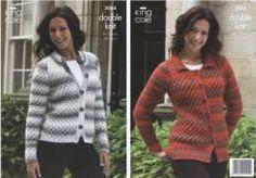 King Cole Mirage DK Knitting Pattern 3064